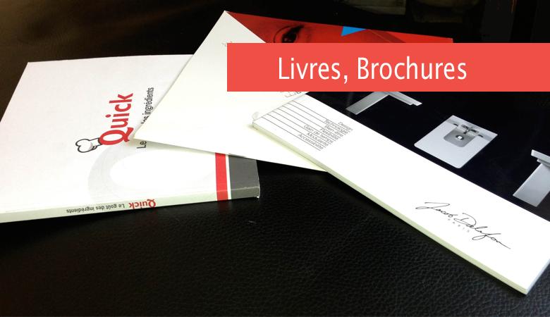 Livres, Brochures